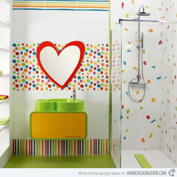Merveilleux 18 Colorful And Whimsical Kidu0027s Bathroom. Bathroom DesignsBathrooms  DecorKid BathroomsKids ...