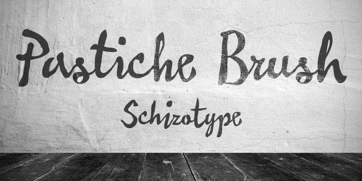 Pastiche Brush™ - Webfont & Desktop font « MyFonts