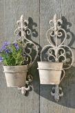 Blomkrukor för vägg.  Söta krukor för vägg dekoration. Säljes per styck. 199:-  www.prydnadsrummet.se