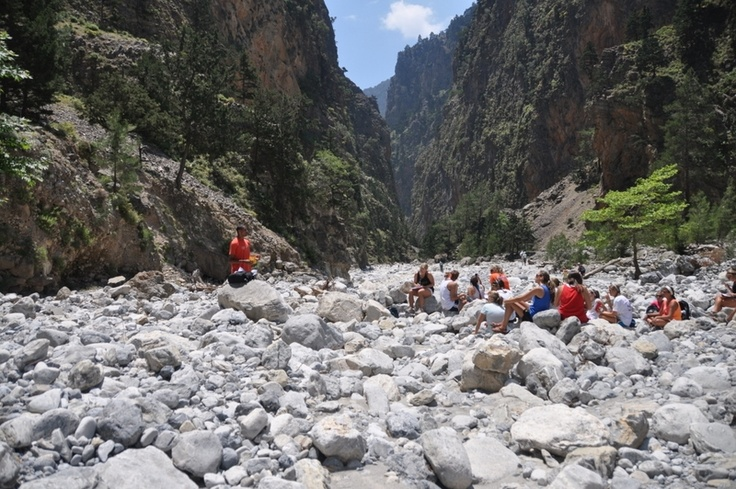 Writing your bucket list in Samaria Gorge? Why not?!?