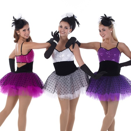 Cute!!! This would be awesome for a jazz roulette kind of dance:D