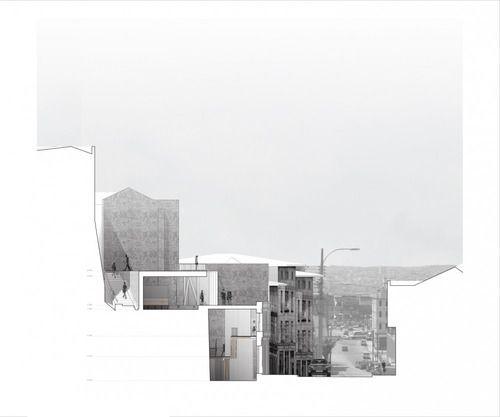Edificio Híbrido para Valparaíso    (Source: plataformaarquitectura.cl)