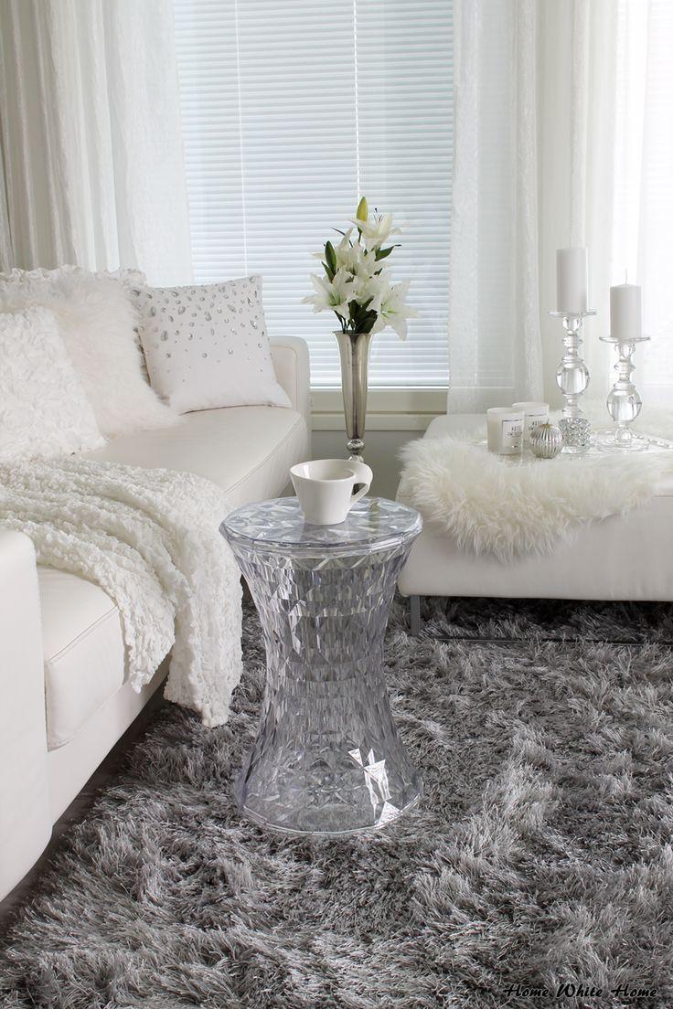 livingroom allwhite with grey shag carpet home white home blog
