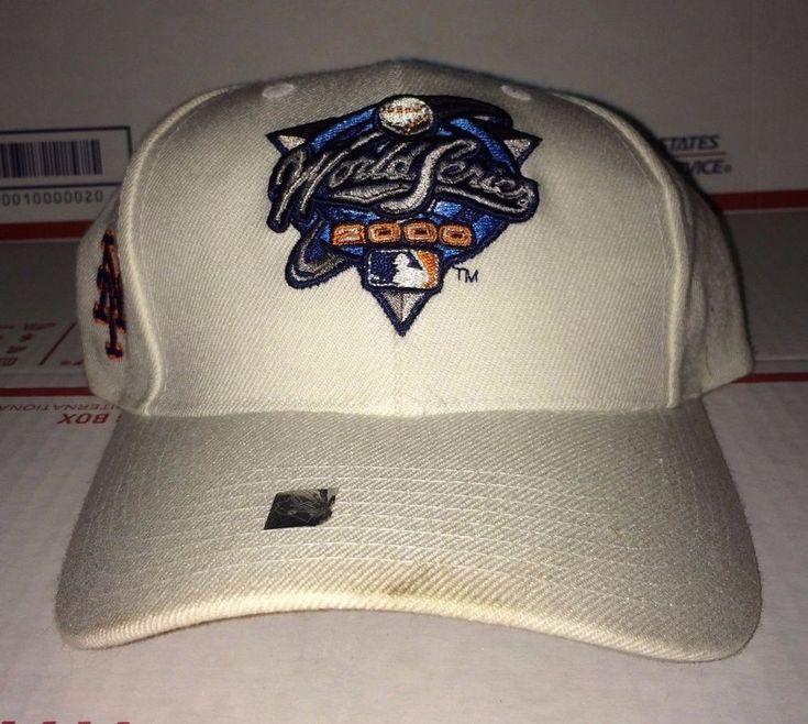 New York METS 2000 World Series baseball cap vtg Hat jersey tee Puma Yankees Jet #LogoAthletic #BaseballCap