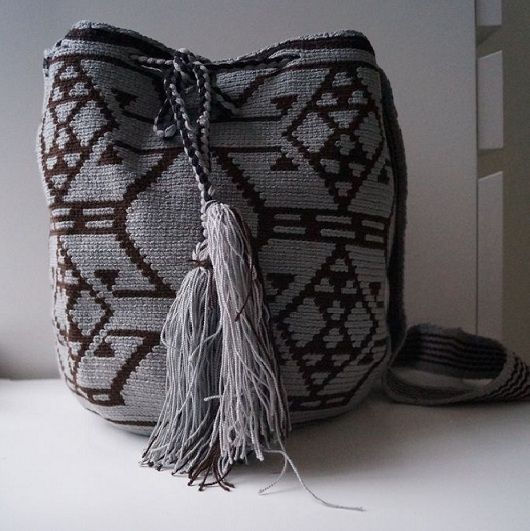 "Men Wayuu bag ""mochila"""