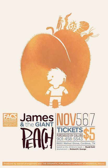 James & and the Giant Peach by killingclipart