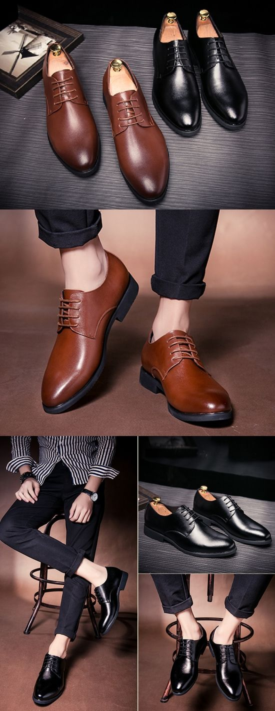 High Quality British Style Genuine Leather Burgundy Slip-on Business Men Shoes Wedding Shoes, Men Dress Shoes Wingtip Brown