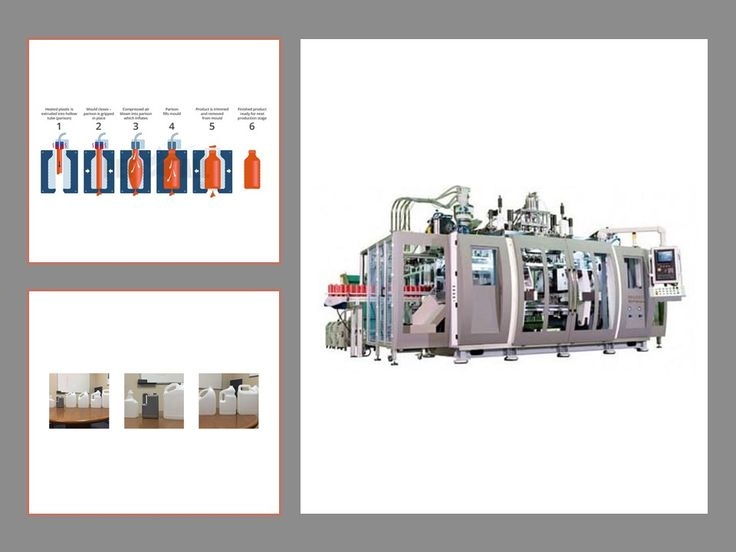 The Pet All Mfg. supplies a range of Extrusion Blow Molding Machinery under the name 'Can Mold Extrusion Blow Molding Machine Series' which has many advantages over any other EBM competitor like Linear carriage with bobbing head, user friendly large color screens, and adjustable angled blow pins, etc.
