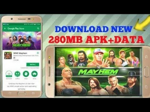 How to download WWE mayhem game in your android device by Gaming4brother