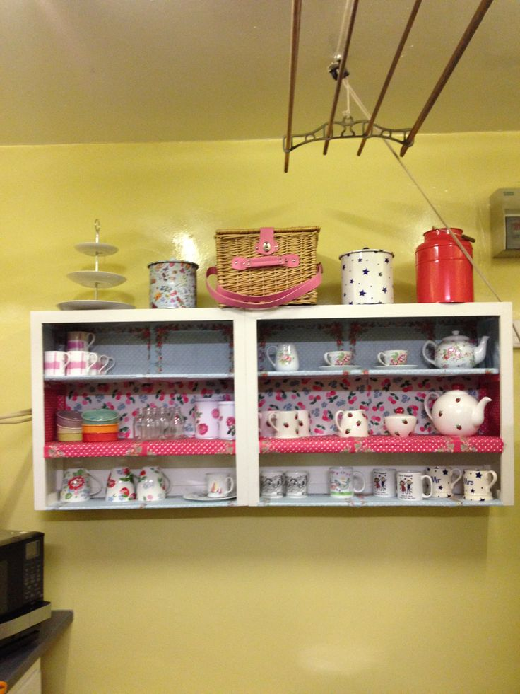 Up cycled cath kidston unit