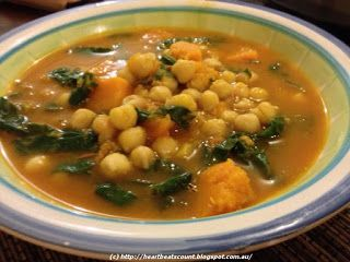 Every Heart Beat Counts!: Moroccan Chickpea and Pumpkin Casserole