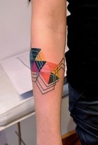 geometric tattoo - Google Search