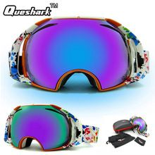 US $24.40 Men Women Ski Goggles Big Mask Double Layer Anti-fog Skiing glasses Climbing Snowboard Goggles. Aliexpress product