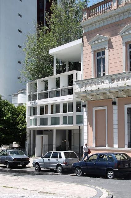 Le corbusier casa curutchet la plata argentina 1949 - Maison argentine ...