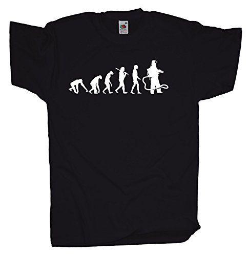 Ma2ca - Evolution - Feuerwehrmann - Herren T-Shirt   Feuerwehr-black-l Ma2ca http://www.amazon.de/dp/B00MMP0N9Y/ref=cm_sw_r_pi_dp_.1ZWwb15F1SJM