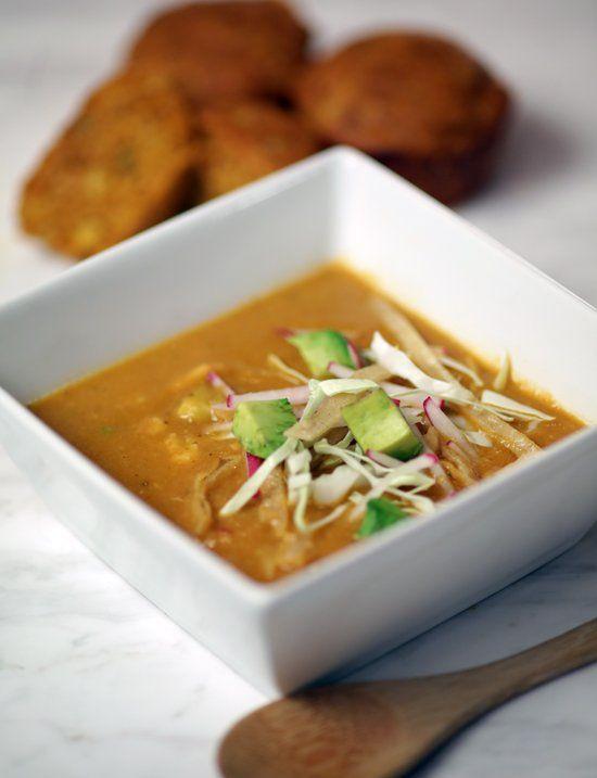 The best Tex-Mex chicken tortilla soup recipe.