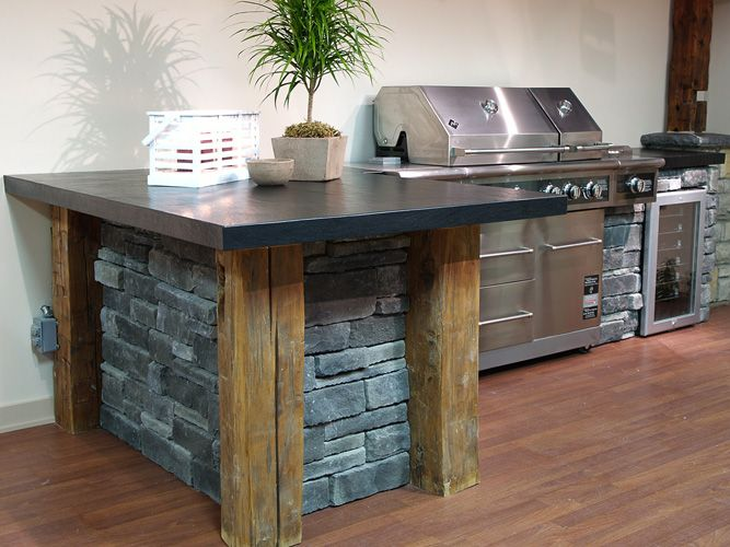 132 best Outdoor Kitchen images on Pinterest | Bar grill, Barbecue Vener Brick Outdoor Kitchen And Bar Ideas on
