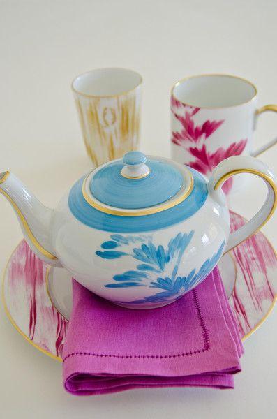 Charlotte Dinnerware Collection Celeste Bleu