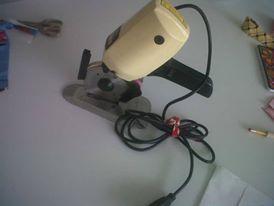 cortadora de tela en disco,   corta como unas 50 capas de #tela #modazeus