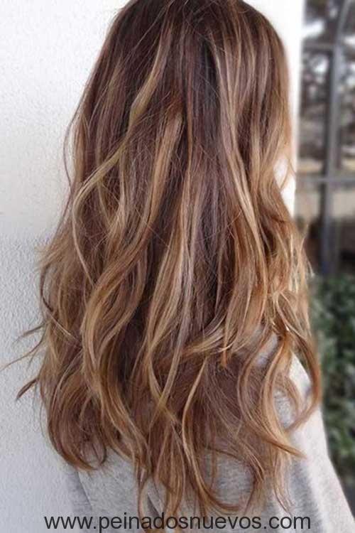 11.Peinados para Cabello Ondulado