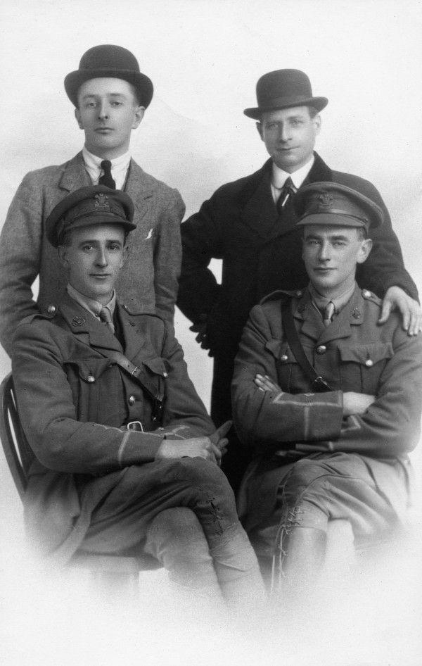 Second Lieutenant Leonard Tregaskis and his brother Lieutenant Arthur Tregaskis