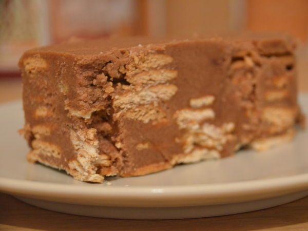 Gâteau de biscuits