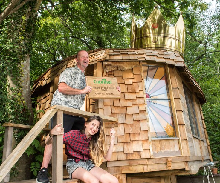 Shed of the Year 2017 winner - The Mushroom Shed