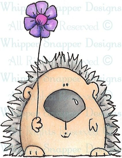 Homer - Woodland - Animals - Rubber Stamps - Shop