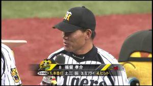 福留孝介 金田とお立ち台 #hanshin #tigers #阪神タイガース