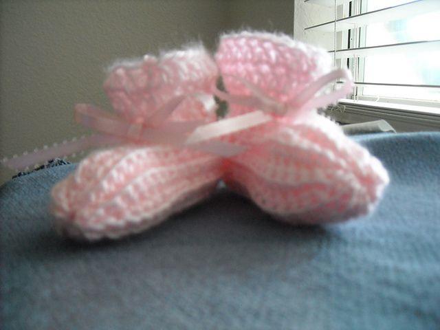 26 Best Preemie Booties Images On Pinterest Preemies Crochet Free