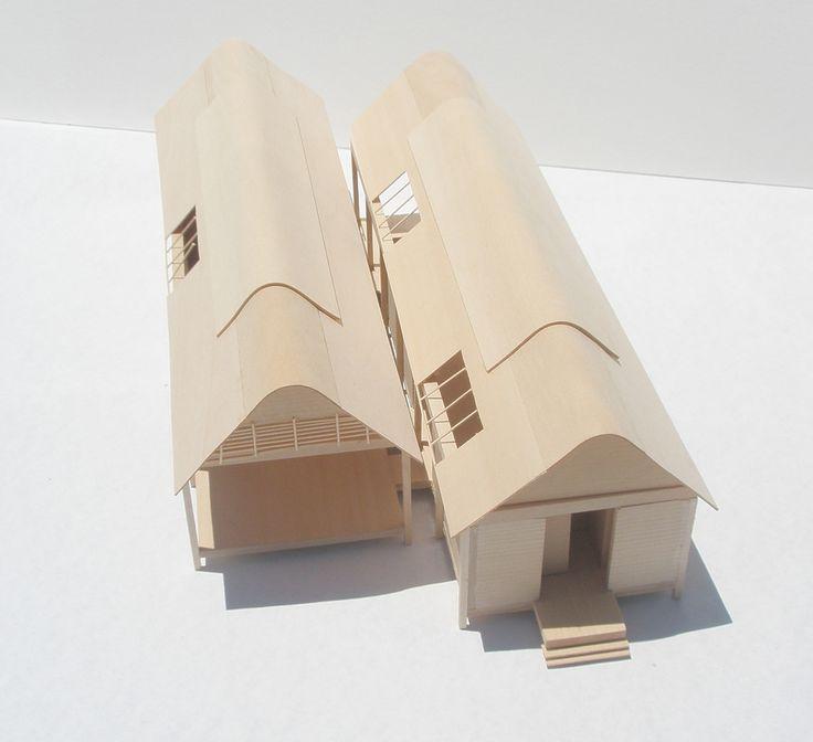 Glenn Murcutt Case Study, Marie Short House Model | Flickr - Photo Sharing!
