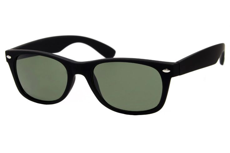 New Black Wayfarer Matte