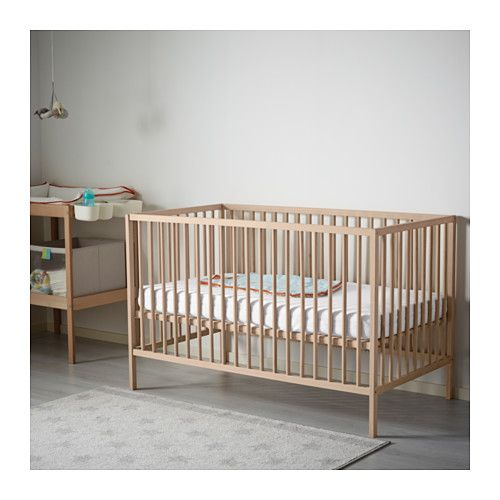 IKEA - SNIGLAR, Crib, , The bed base can be placed at two different heights.One…