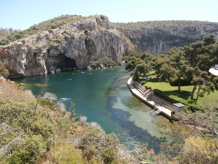 The natural treasure of #VouliagmeniLake in the southern suburbs of #Athens...