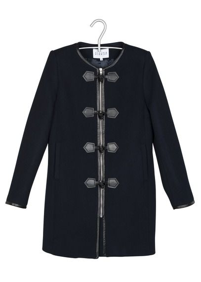 Jusqu'à -50%. Manteau En Laine Bleu Claudie Pierlot pour femme sur Place des tendances Groupe Printemps. Retrouvez toute la collection Claudie Pierlot pour femme.