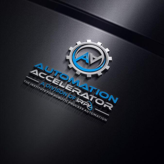 Cutting Edge Logo  Needed - Automation Accelerator by nicky mawon