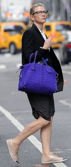 """Cate Blanchett out shopping in Manhattan before attending a performance of """"Uncle Vanya"""""""