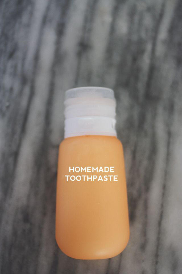 This weekend I made my very first homemade toothpaste. So, easy breezy. Before you think Ive...