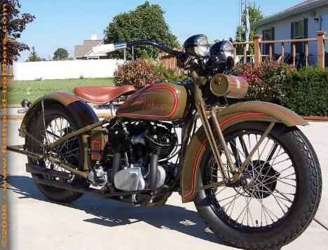 1930 Harley VC Flathead 74