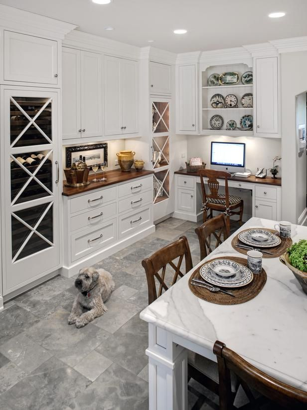 Best 25 traditional white kitchens ideas on pinterest for Dog friendly flooring ideas