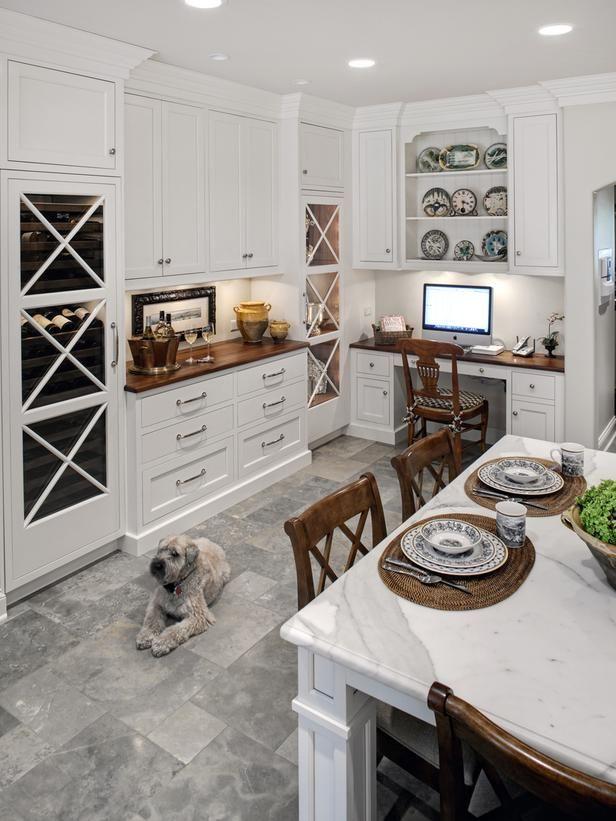 Other angleKitchens Desks, Kitchens Design, Kitchens Floors, Bath Studios, Traditional Kitchens, Drury Design, Design Table, Design Kitchens, White Kitchens