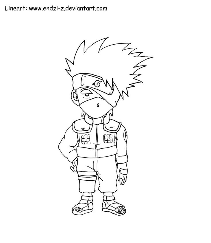 1 best lineart chibi's images on pinterest  naruto
