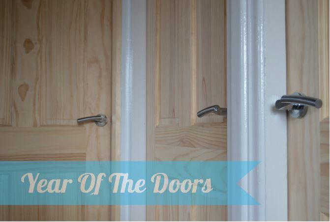 internal doors - pine and oak