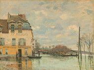 Flood at Port-Marly, 1872