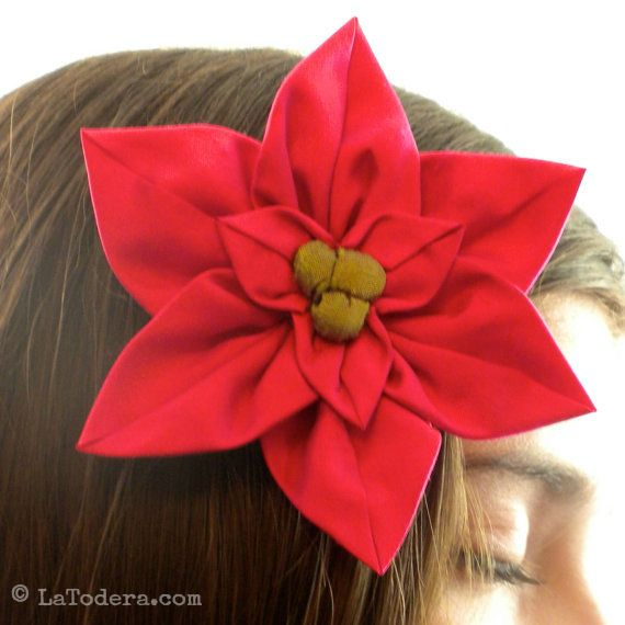 108 best DIY Fabric Flowers images on Pinterest | Fabric flowers ...