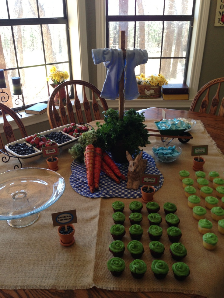 17 Best Images About Peter Rabbit Party Ideas On Pinterest