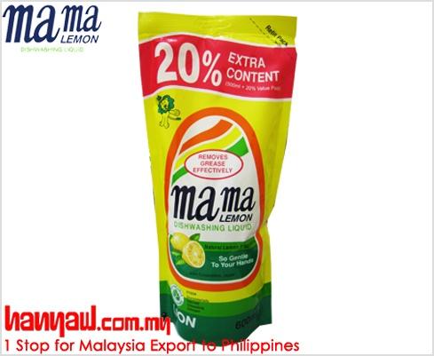 Visit- http://www.hanyaw.com.my/Products/Mama_Lemon_Dishwashing_Liquid_Natural_Lemon.html