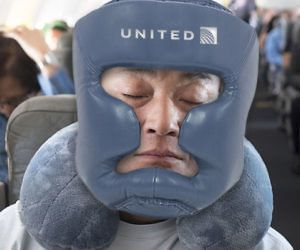 United Airlines Travel Pillows