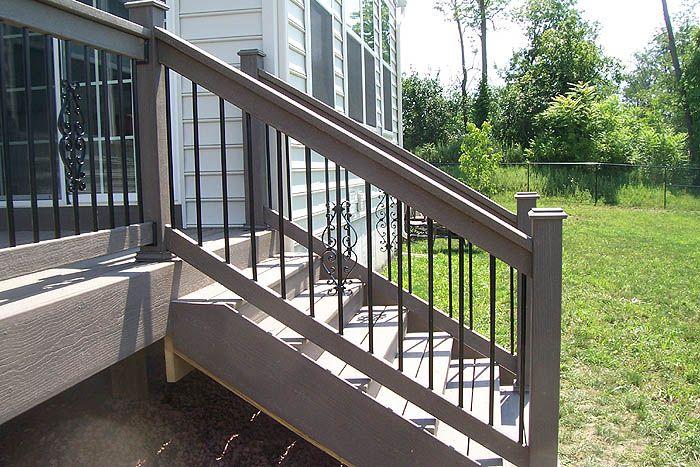 Best 25 Deck Stair Railing Ideas On Pinterest Outdoor