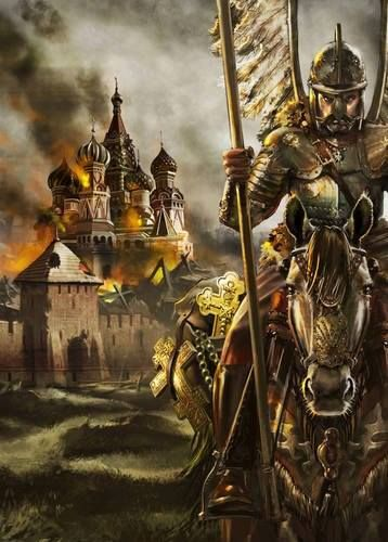 9 Oct. 1610 Polish Hussars has Arrived to Kreml